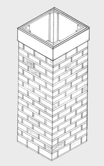 Faux Chimney Diagram